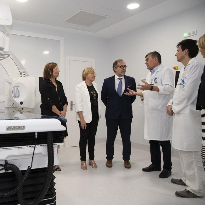 Diputació i Sanitat seguiran impulsant el Provincial com a centre de referència oncològic