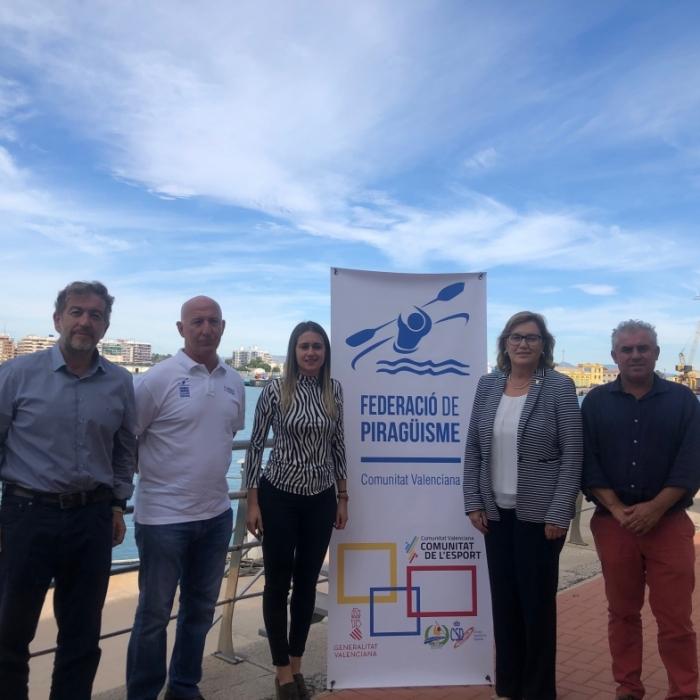 Este fin de semana se celebra en Borriana el campeonato de España de piragüismo por autonomías
