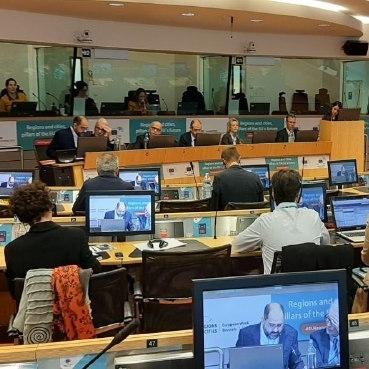 Pau Ferrando exposa l'estratègia de desenvolupament sostenible de la Diputació a Brusel·les