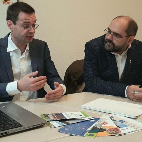 Pau Ferrando troba suport a Brussel·les per impulsar l'economia sostenible als municipis de Castelló