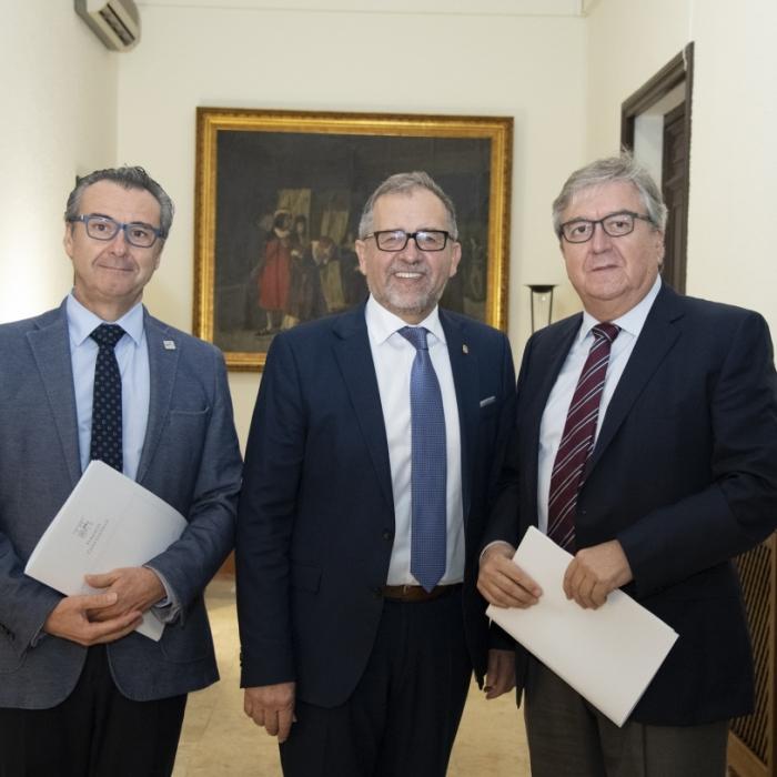 Martí mostra la disposició de la Diputació a continuar col·laborant amb la Fundació Caixa Castelló