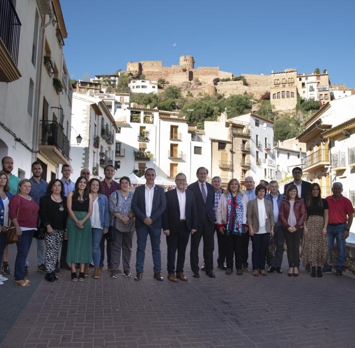 Martí recolza Vilafamés en el seu paper d'amfitriona de la fira de municipis 'més bonics d'Espanya'