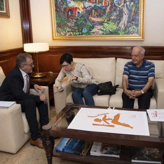 Cruz Roja traslada a José Martí la necesidad de compartir proyectos para dinamizar el interior