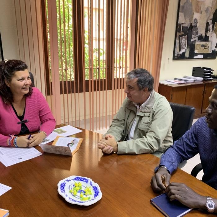 Patricia Puerta rep l'ONG Acción Sin Fronteras