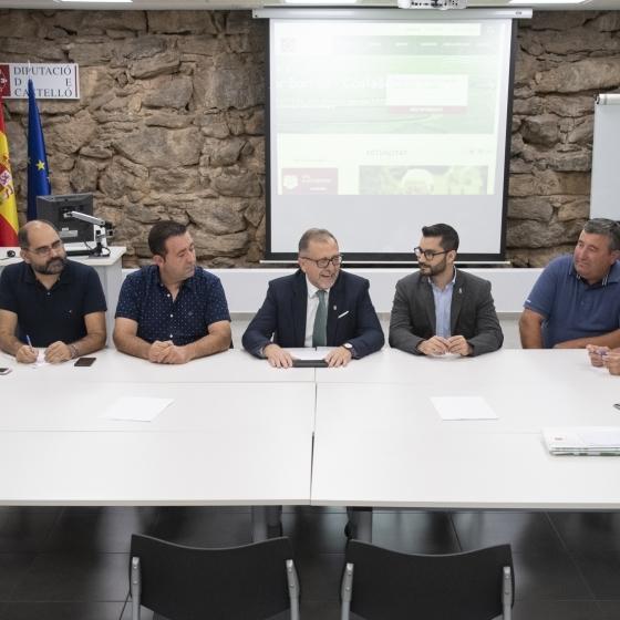 Martí se reúne con más de 100 alcaldes de la provincia para diseñar los presupuestos de 2020
