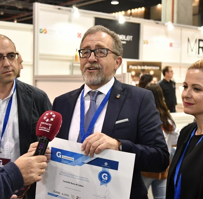 'Castelló Ruta de Sabor', mejor iniciativa turística de 2019 en la Comunitat Valenciana