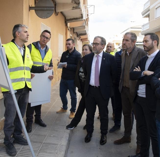 105.000 euros per a la renovació del col·lector de residuals del carrer Germans Pinzón de Moncofa