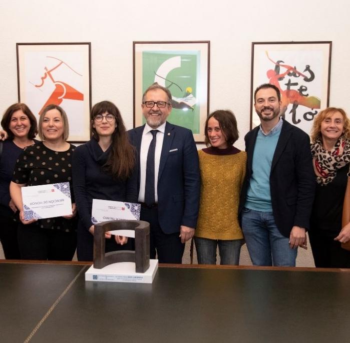 La Diputación premia la obra 'Dimensión Perpendicular' en su Concurso de Iniciativas Cerámicas