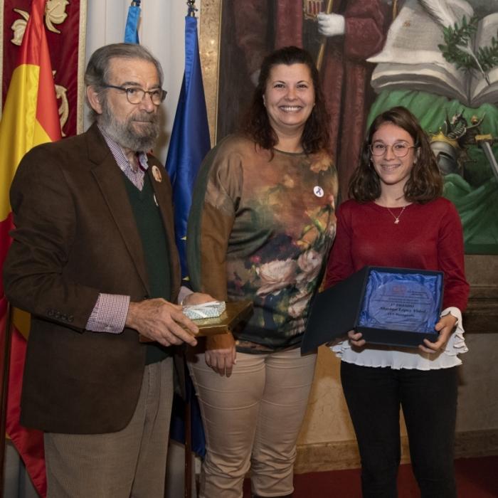 Marina López, de l'IES Benigasló, premi a la millor redacció contra la violència masclista