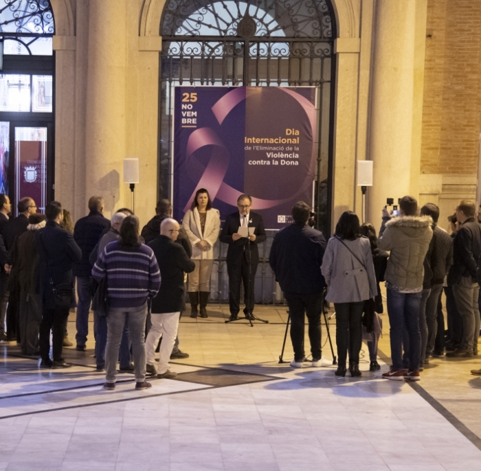 La Diputació de Castelló reforça el seu compromís per a fer front a la violència masclista