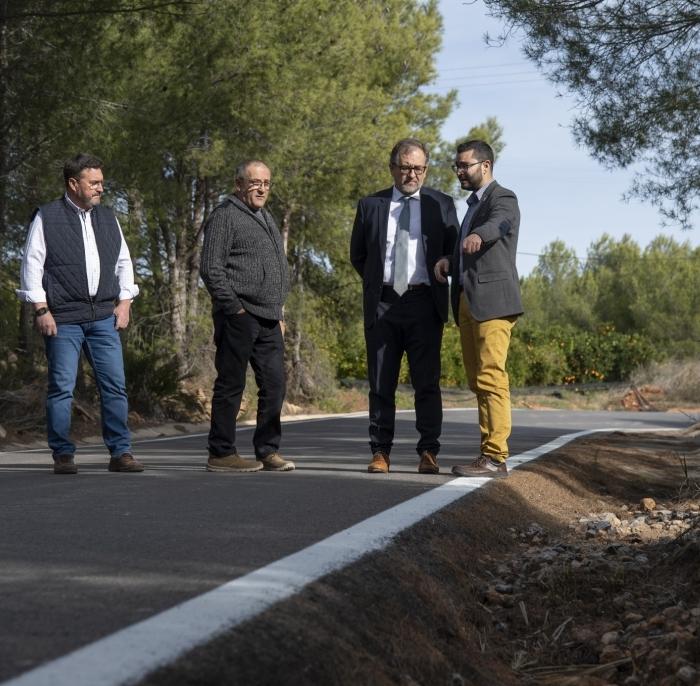 La Diputació de Castelló millorarà la seguretat de la carretera que uneix l'Alcora i Araia