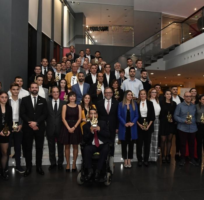 Martí preside la XXIII Gala del Deporte que reconoce a Sebastián Mora como mejor deportista de 2019