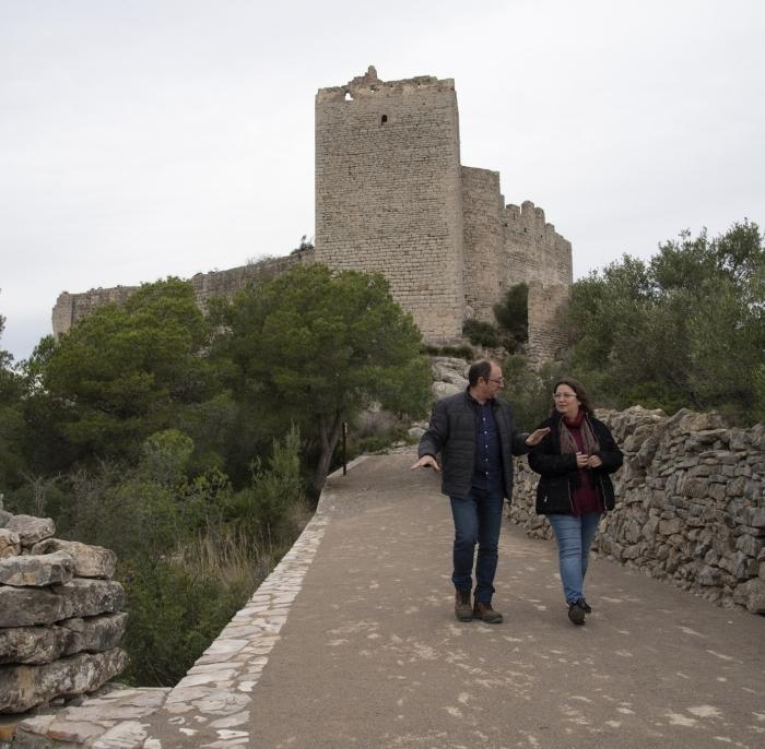 La Diputació recuperarà com a recurs turístic els castells de Xivert i de Polpís