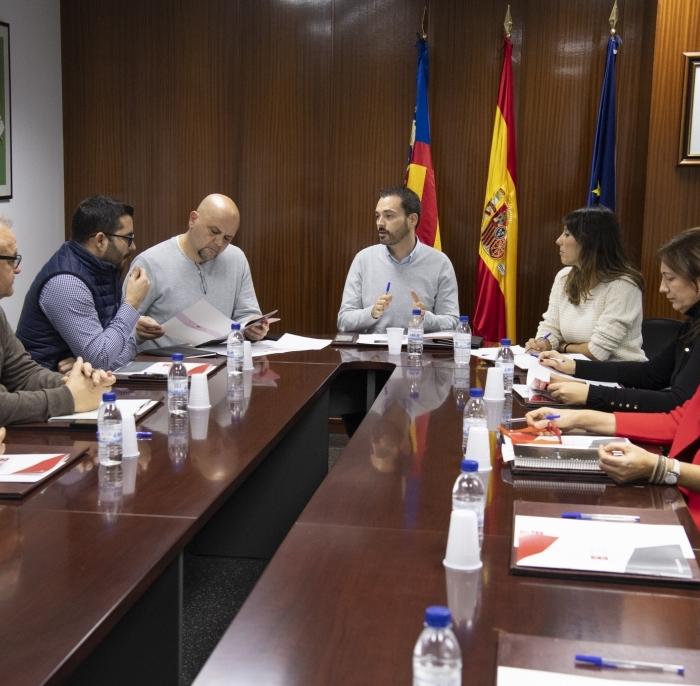 La Diputación habilitará en Cevisama 2020 un estand moderno y funcional con olor a naranja para que los ayuntamientos hagan sus presentaciones