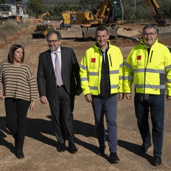 La Diputació inverteix 1,25 milions d'euros en la millora de la xarxa de carreteres de l'Alt Palància