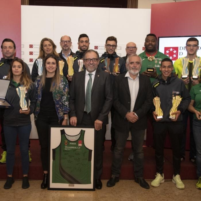 José Martí felicita al Playas de Castellón por un 2019 plagado de éxitos en el que se ha proclamado mejor club de Europa