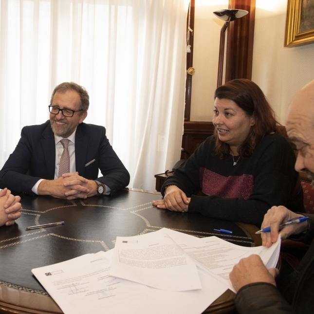 La Diputación aprueba un convenio de más de 100.000 euros para que Cocemfe pueda abrir su Centro de Atención Integral