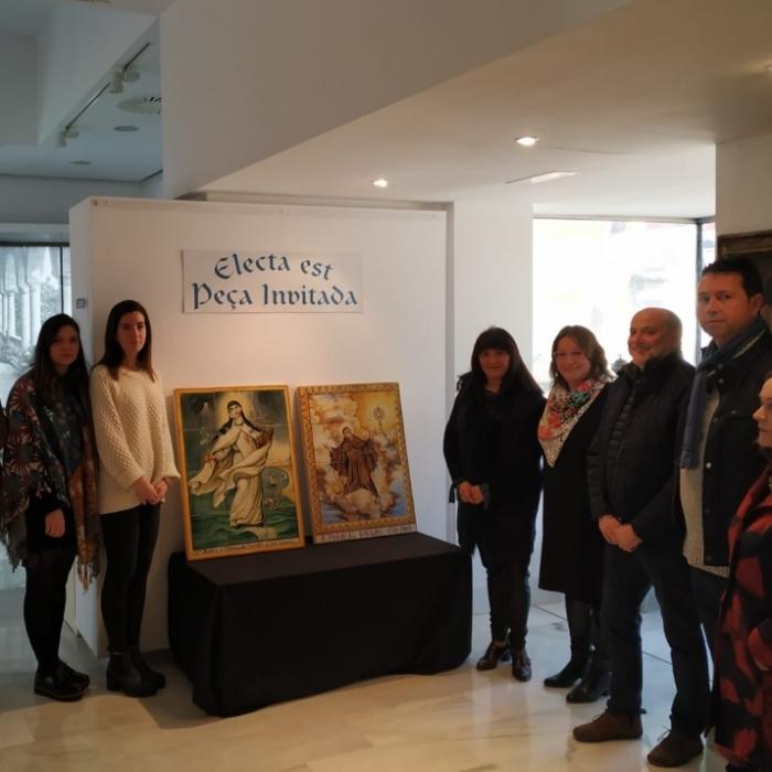 La Diputació presenta la restauració de dos retaules ceràmics de gran valor de la Vilavella