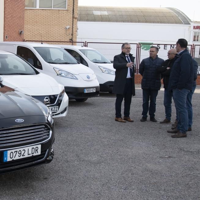 La Diputació de Castelló adquireix cinc vehicles sostenibles per al parc mòbil