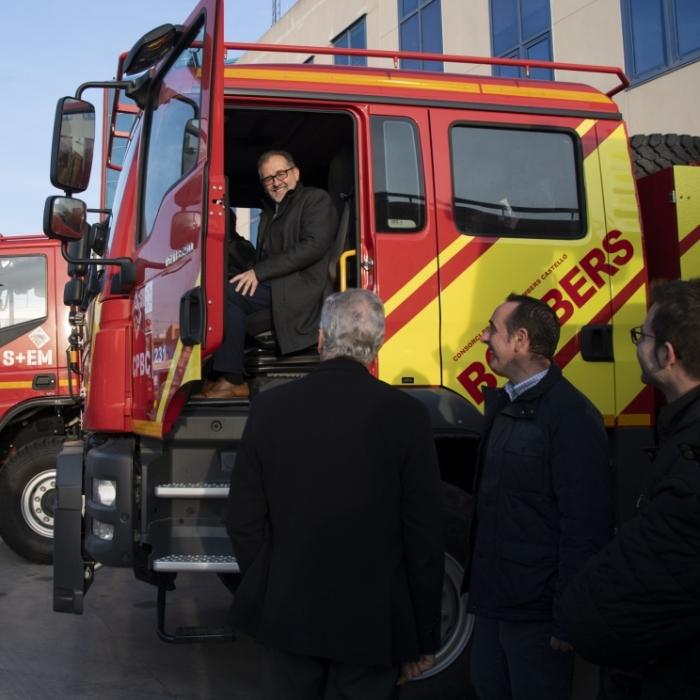 Els bombers de Castelló modernitzen la seua flota amb 10 nous vehicles