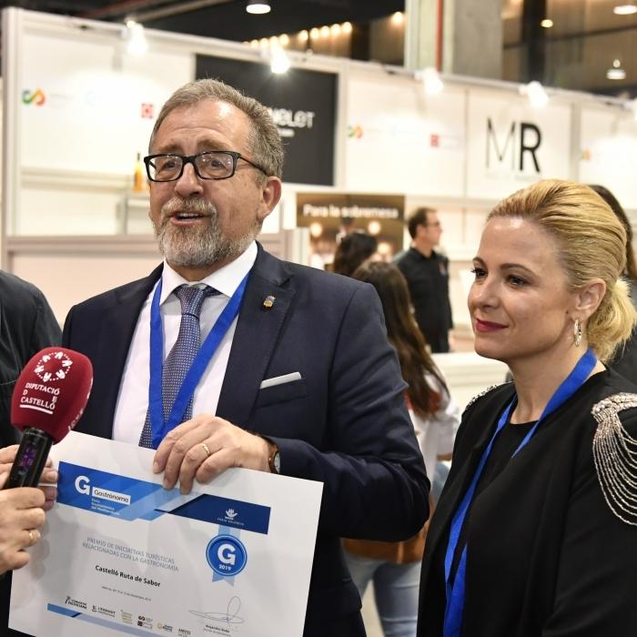 La Diputació de Castelló organitza un showcooking en FITUR 2020 amb productes de Castelló Ruta de Sabor