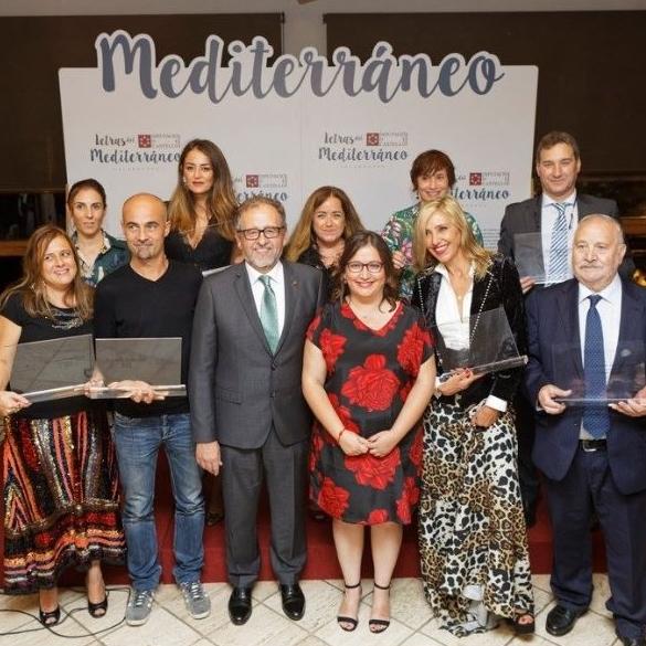 La Diputación presentará en Fitur a los cuatro nuevos galardonados de Letras del Mediterráneo