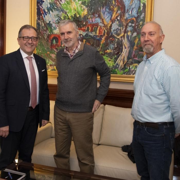 José Martí i UGT comparteixen la necessitat de conformar un equip qualificat de persones per a accedir a subvencions de la UE per als pobles d'interior