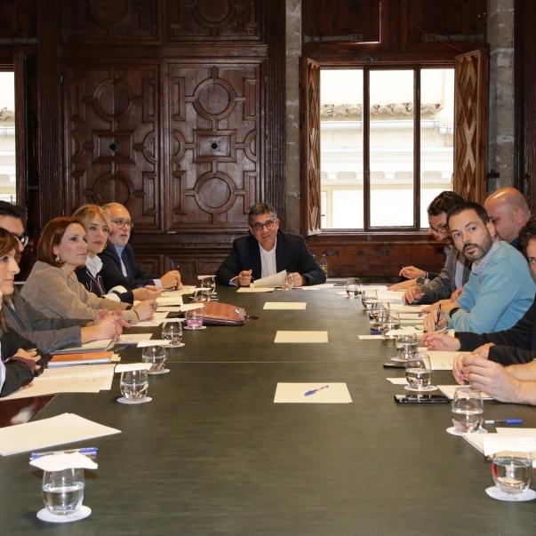 Huguet participa en la reunió de coordinació del Fons de Cooperació per a avançar en l'arribada d'11,2 milions d'euros a Castelló