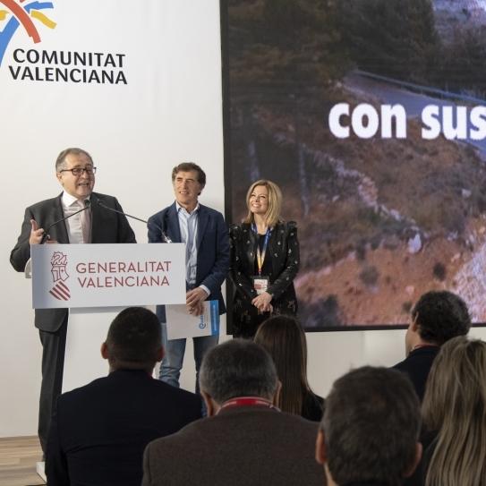 La Diputació reforça a Fitur els contactes amb països emissors de turisme interessats en les destinacions de Castelló