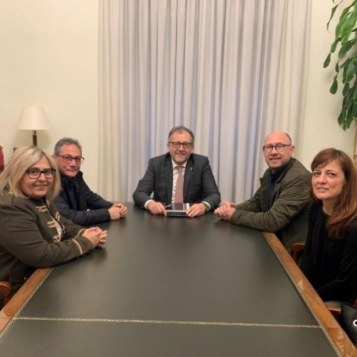 La Diputació i Comissions Obreres treballaran per a impulsar pactes d'ocupació en totes les comarques i crear sinergies