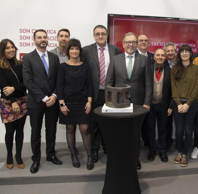La Diputación premia a Small Size por su apuesta por la innovación en la producción cerámica para entornos urbanos