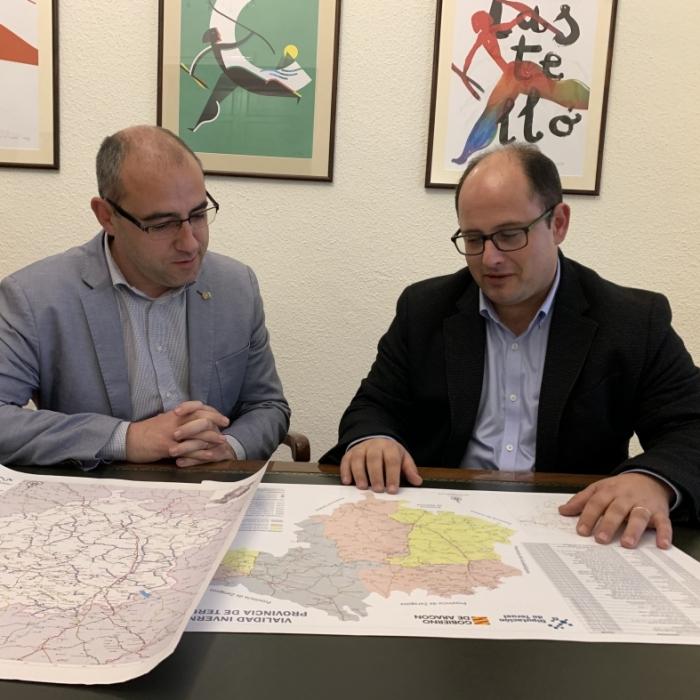 Castellón y Teruel preparan la reunión para analizar actuaciones conjuntas en las dos provincias