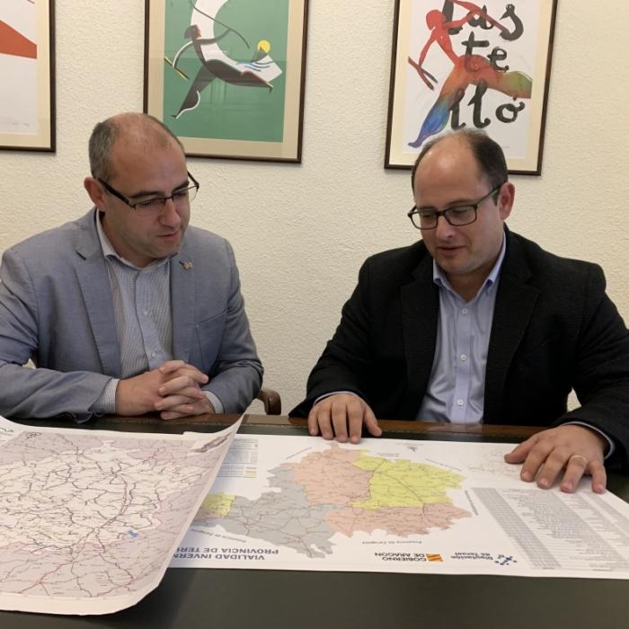 Castelló i Terol preparen la reunió per a analitzar actuacions conjuntes en les dues províncies