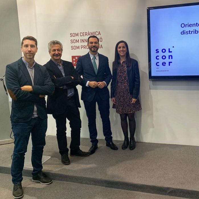 La Diputación y el ITC potencian Solconcer como herramienta de promoción de la calidad de la cerámica provincial con novedades