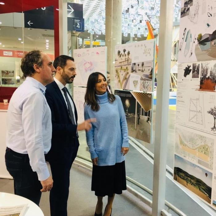 La Diputación cierra su presencia en Cevisama 2020 con una exposición de los proyectos finalistas del concurso de regeneración urbana