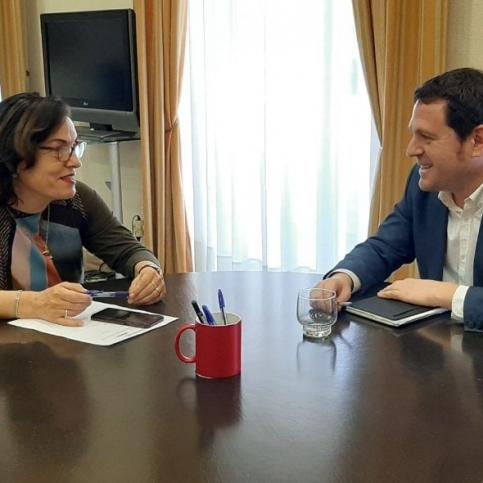 El diputado de Residuos y la subdelegada del Gobierno en Castelló valoran medidas contra los delitos ambientales