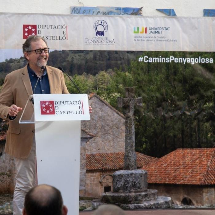 José Martí posa en valor l'acord perquè la Diputació assumisca la gestió dels edificis a restaurar del santuari de Penyagolosa