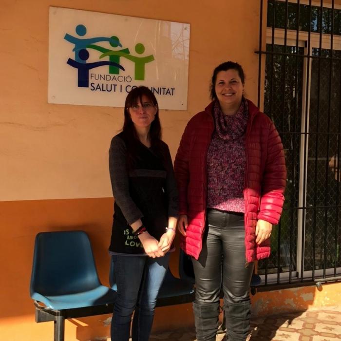 Patricia Puerta aplaudeix la labor social de la Fundació Salut i Comunitat en benefici de les persones drogodependents