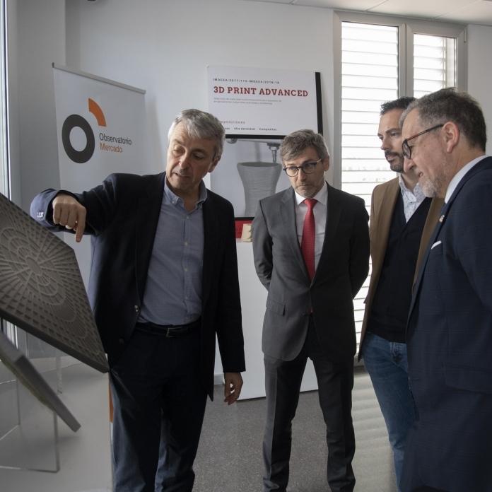 José Martí aplaude que el ITC transfiera a las empresas cerámicas de Castellón los conocimientos alcanzados en sus proyectos de investigación
