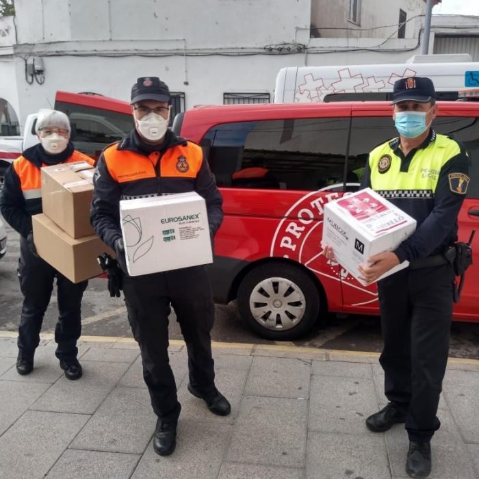 La Diputació de Castelló destina prop de 150.000 euros a adquirir material de protecció enfront del coronavirus per als 135 ajuntaments i 7 mancomunitats de la província