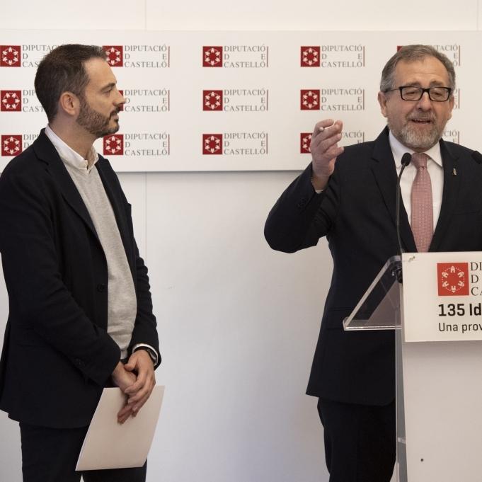 La Diputació de Castelló activa el Pla Provincial d'Obres i Serveis perquè els ajuntaments reben 12,4 milions d'euros
