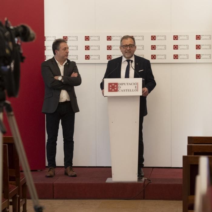 La Diputación abona los 5,6 millones de euros del Fondo de Cooperación a los municipios de Castellón