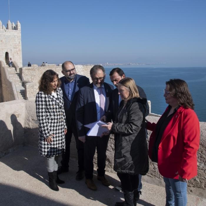 La Diputació fa accessible en 3D el Castell de Peníscola en temps de crisi i confinament