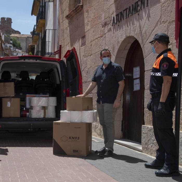Comença el repartiment de les 370.000 mascaretes homologades per la província de Castelló