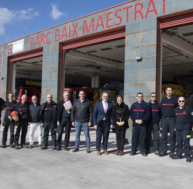 La Diputación realizará 400 test rápidos a bomberos, Protección Civil y parque móvil desde esta semana