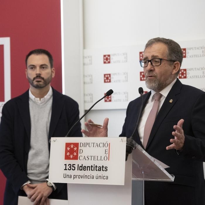 La Diputación amplía hasta el 1 de septiembre el plazo de justificación de las obras del Plan 135 de 2019