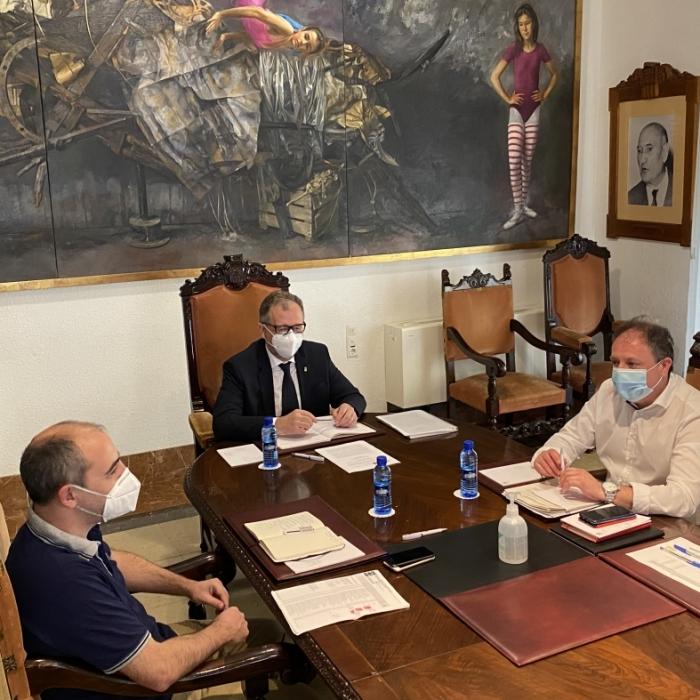 La Diputación suscribe una póliza de 15 millones de euros que le asegura liquidez para responder a la crisis de la Covid-19
