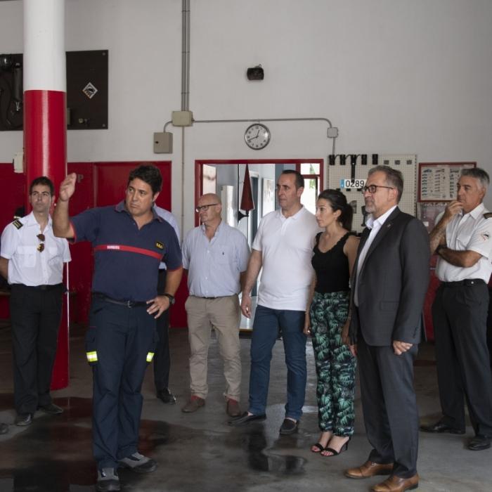 La Diputació impulsa l'actualització i reforç de les plantilles dels parcs de bombers i dels voluntaris de Protecció Civil