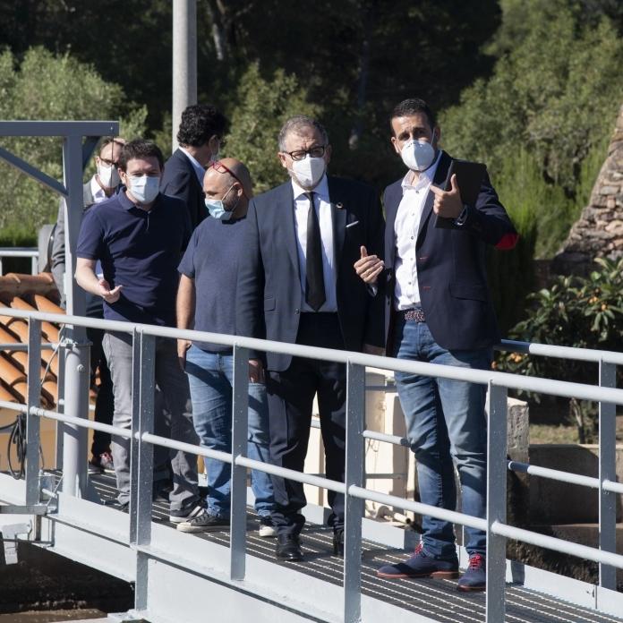 La Diputació de Castelló i FACSA traslladen a les depuradores d'interior el projecte 'Covid Water'