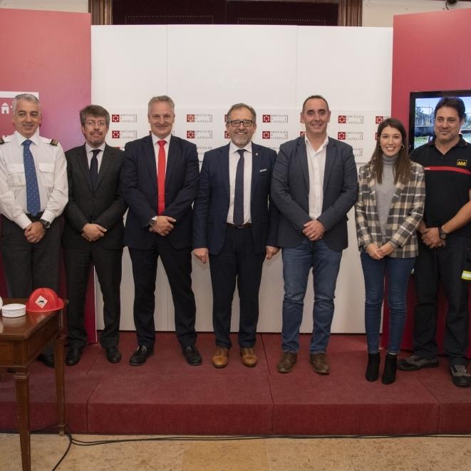 La Diputación aprueba las bases de las ayudas para la redacción de planes de prevención de incendios en pueblos de menos de 1.000 habitantes